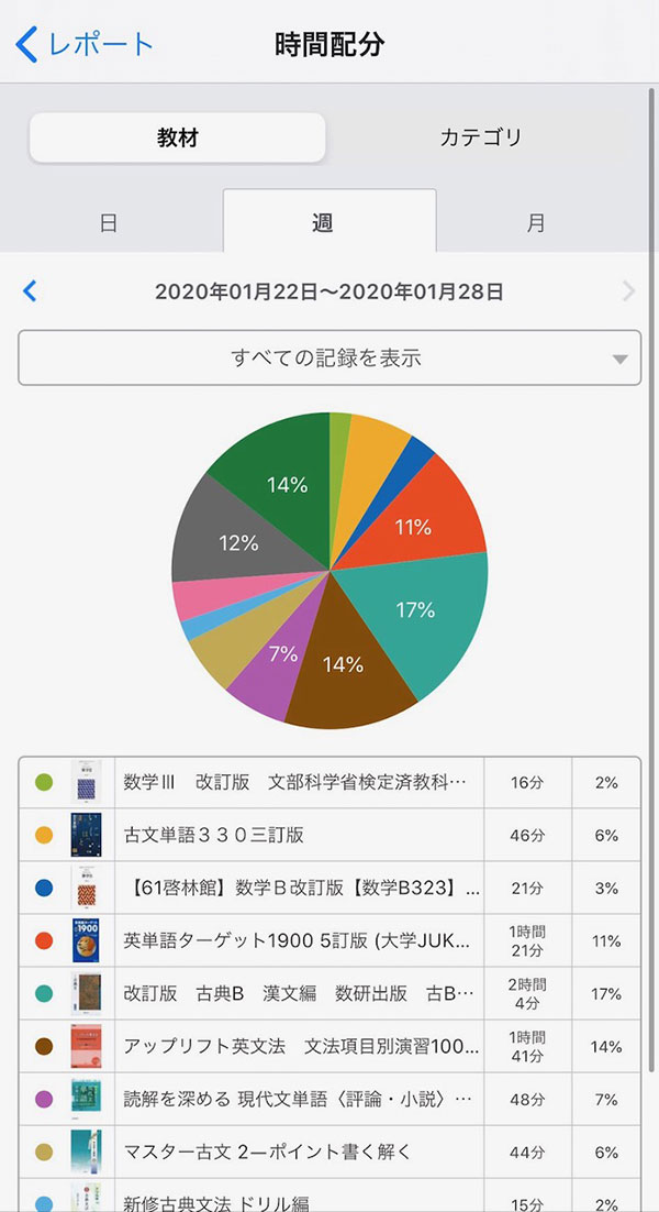 学習管理アプリ(高校生3)
